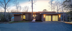 Haw River House Front Entry