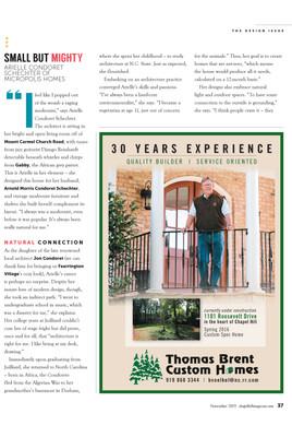 Chapel Hill Magazine Design Issue Nov 2015.jpg