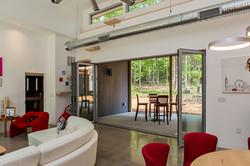 Oversized Living Room Folding Doors
