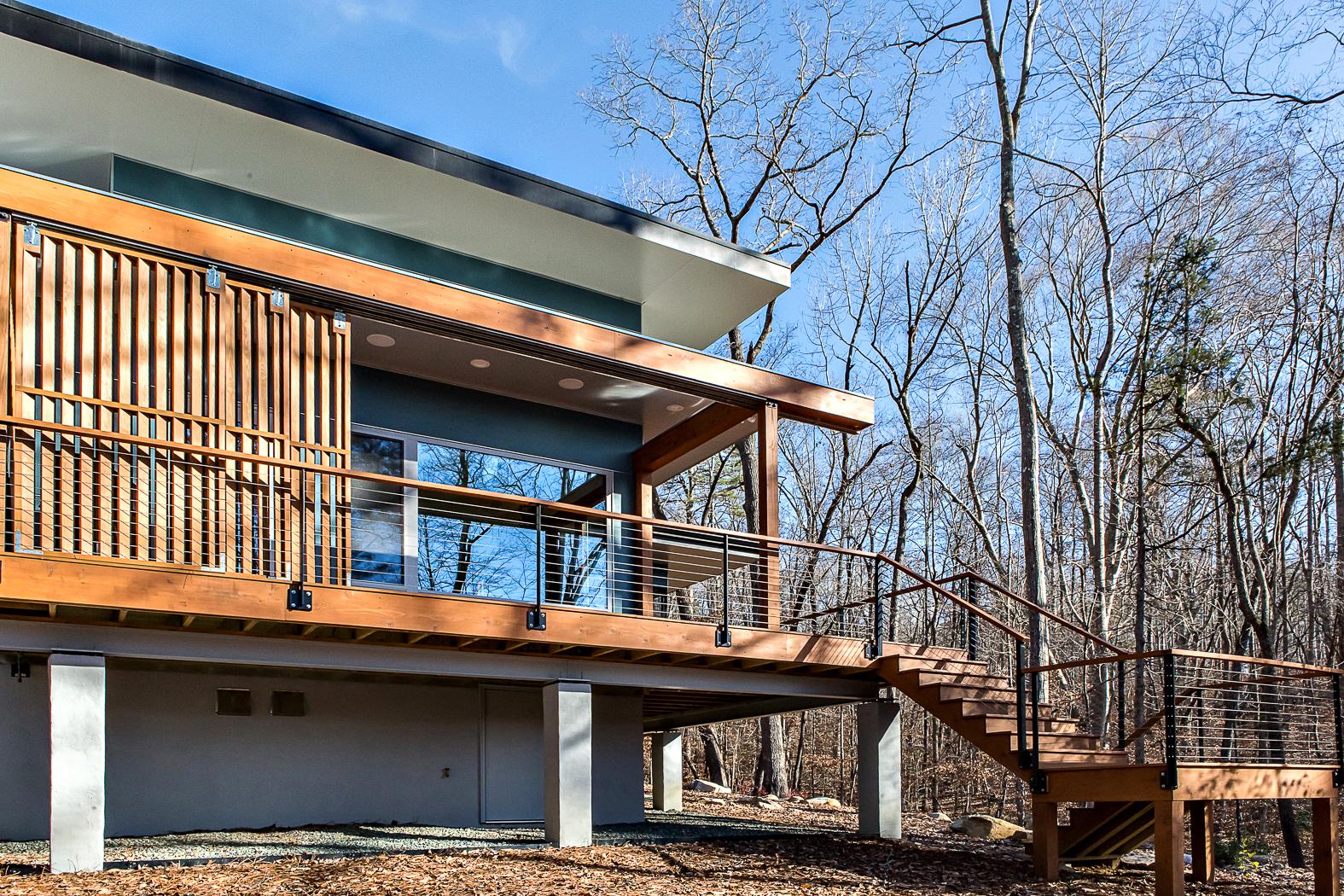 Beech House Western Deck