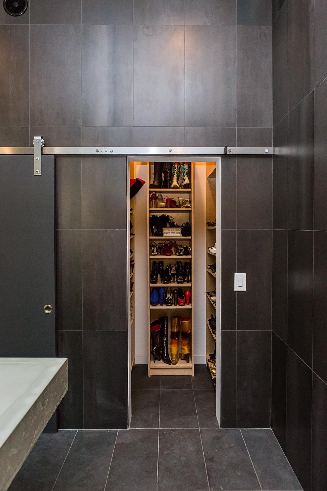 Shoe Display Closet