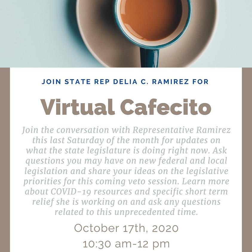 Virtual Cafecito with Rep. Ramirez