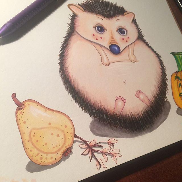 Greedy Hedge the Hedgehog 🦔 ._._._._._._._._