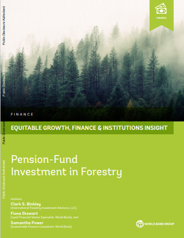 Pension-Fund Investment in forestry