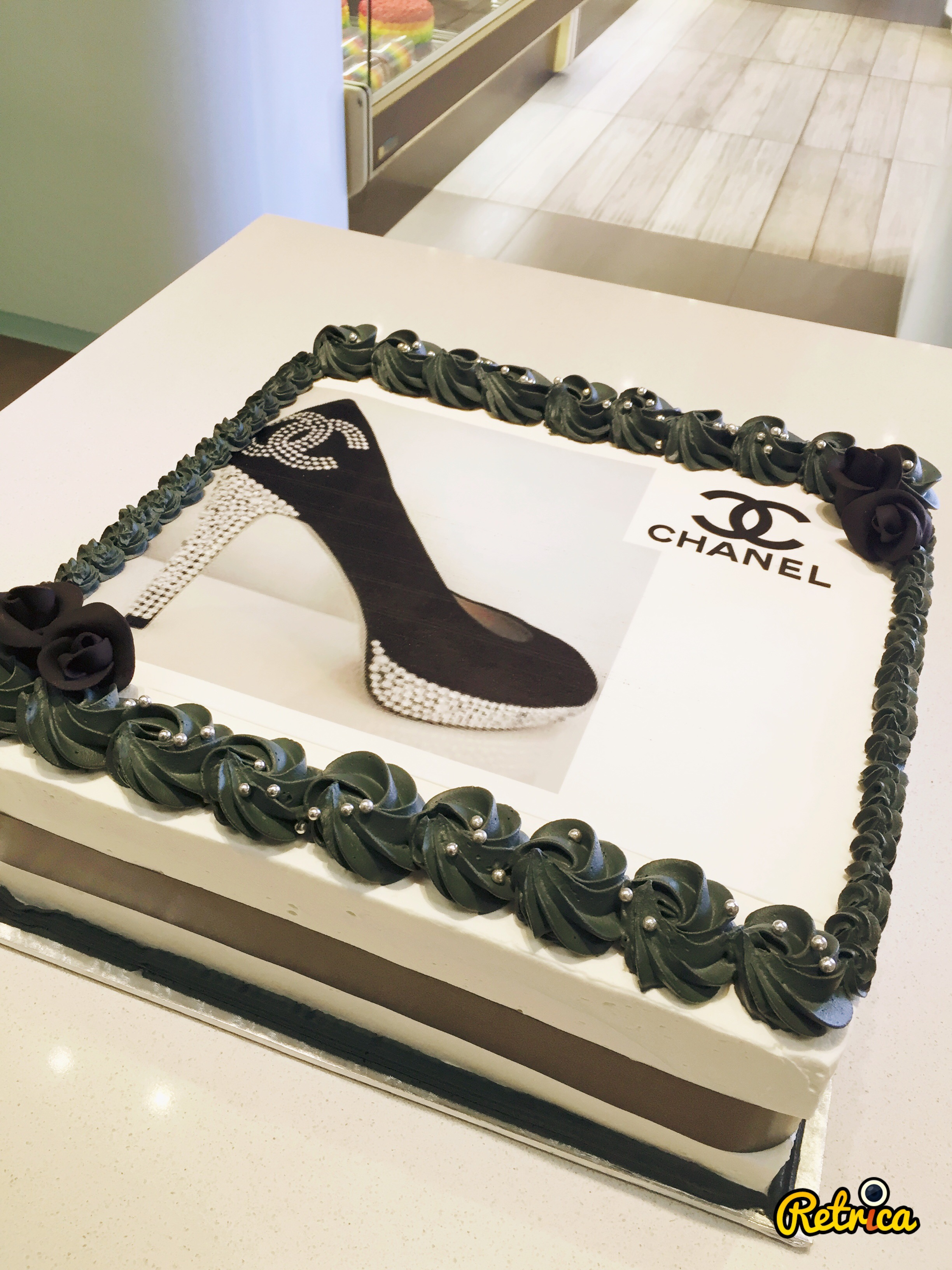 2D Chanel Rice paper Birthday