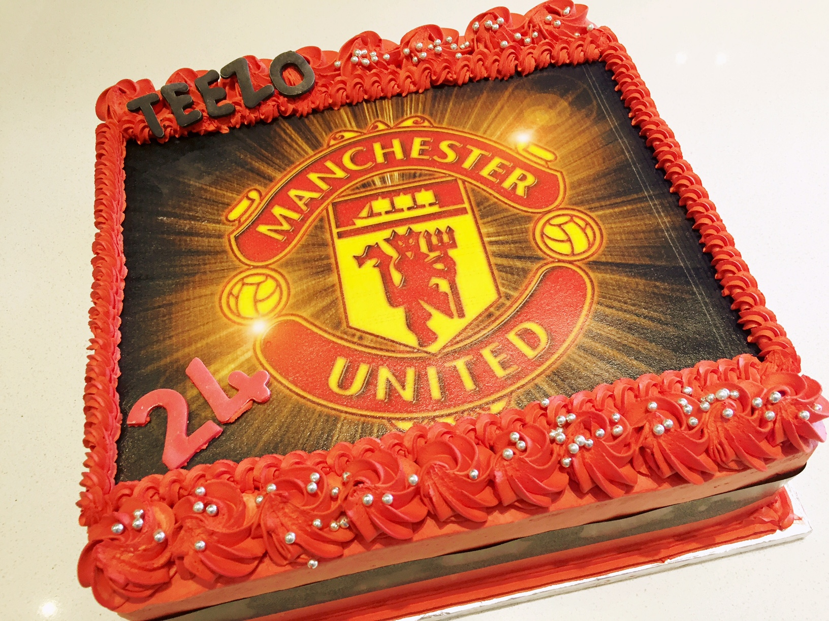 2D Man-united Birthday