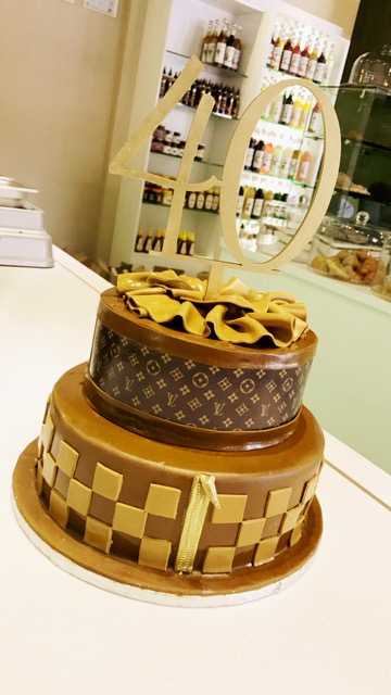 LV Birthday Cake