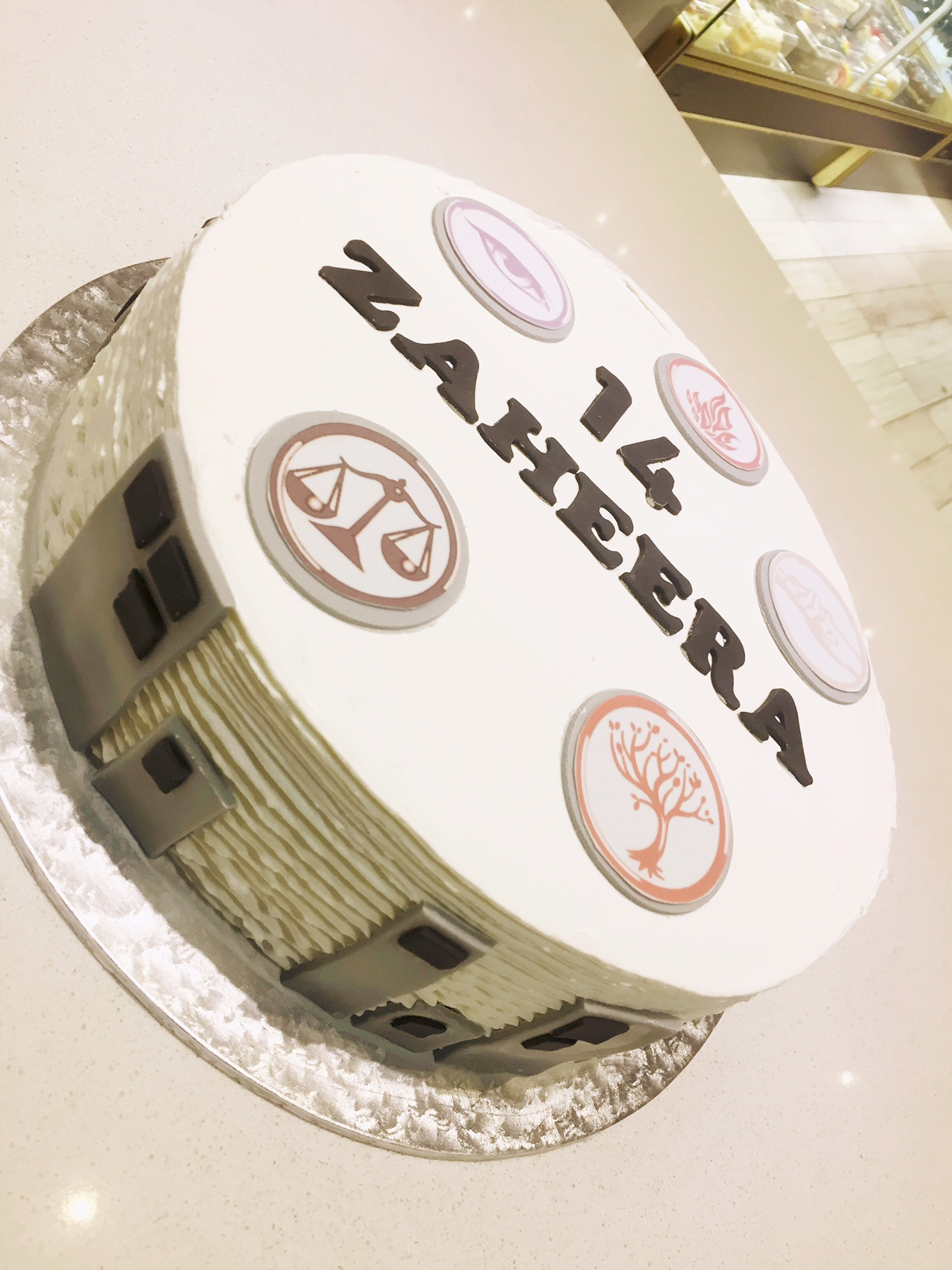 Divergence Birthday Cake