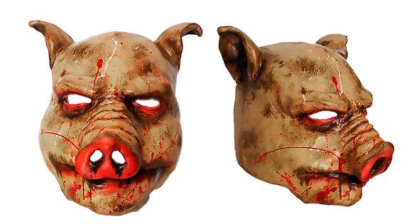 Máscara de látex integral de cerdo