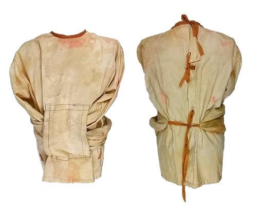 Camisa de fuerza con cintas