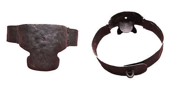 Bozal de hierro con lengüeta de paladar