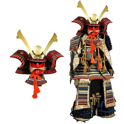 Réplica armadura completa funcional de samurái siglo XVI