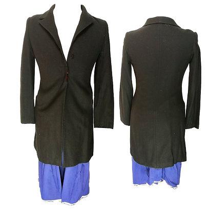 Abrigo largo paño entallado (Mary Popins)