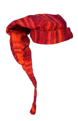 Gorro lana Elfo Naranja