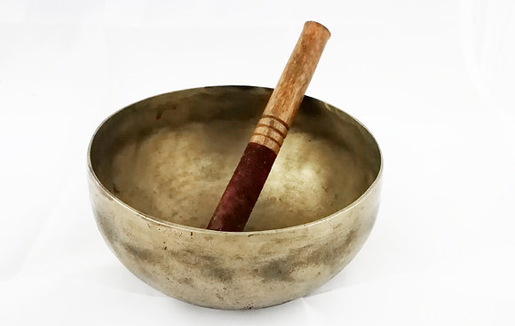 Cuenco tibetano antiguo 7 metales