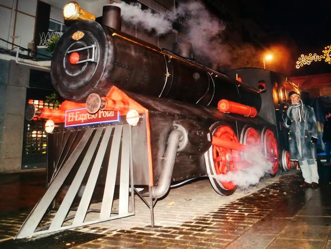 Locomotora Expreso Polar Terminada