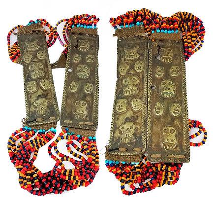 Antiguo collar ritual tribu naga