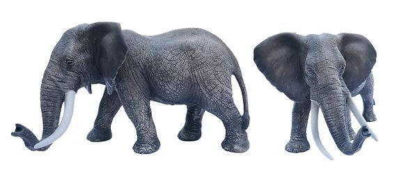 Juguete de goma elefante gran realismo