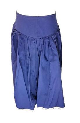 Falda azul con cintura alta (Mary Popins)