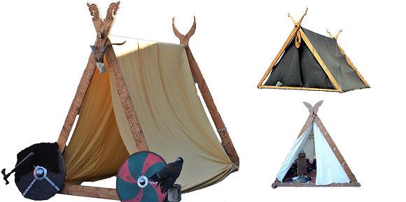 Tiendas y campamentos vikingos y celtas