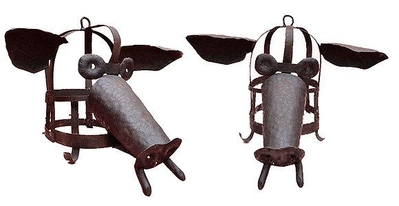 Máscara de tortura y escarnio de hierro (cerdo)