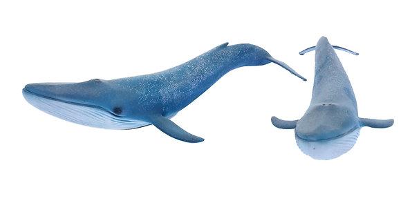 Juguete de goma gran ballena azul