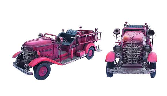 Juguete de metal coche de bomberos