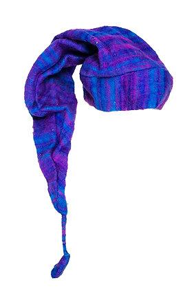 Gorro Elfo lana azul
