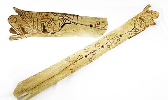 Flauta de hueso ceremonial