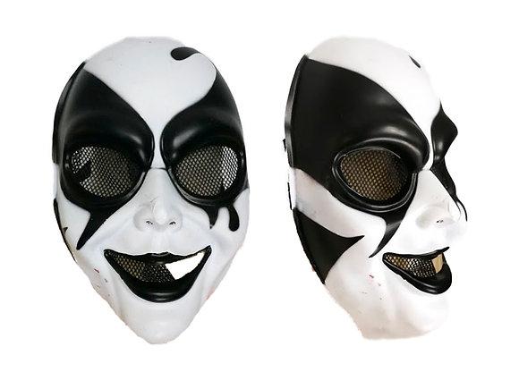 Máscara plástico arlequín