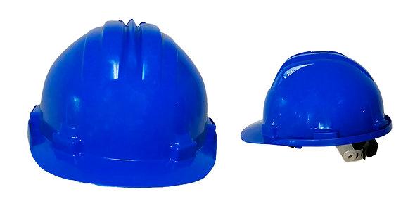 Casco ingeniero azul