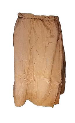 Falda tejido pesado