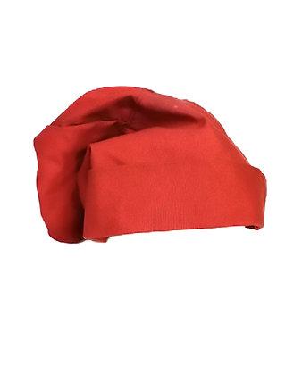 Bonete de marinero color rojo