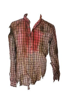 Camisa de hombre zombi