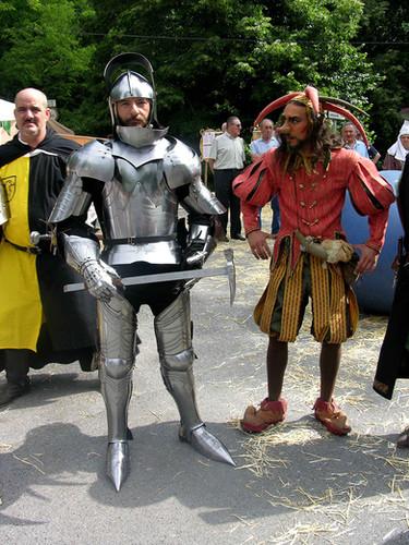Combate historico con armadura