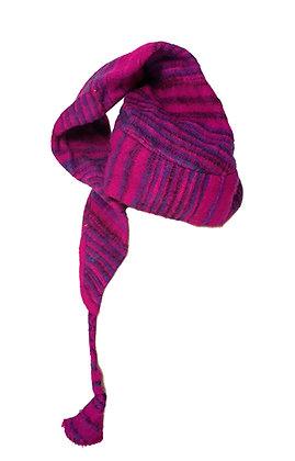 Gorro lana elfo color morado