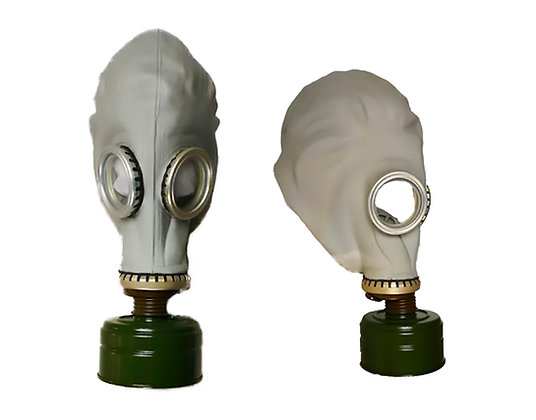 Máscaras antiguas soviéticas