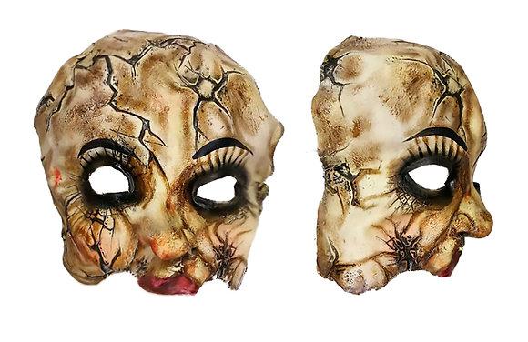 Máscara látex cara de porcelana