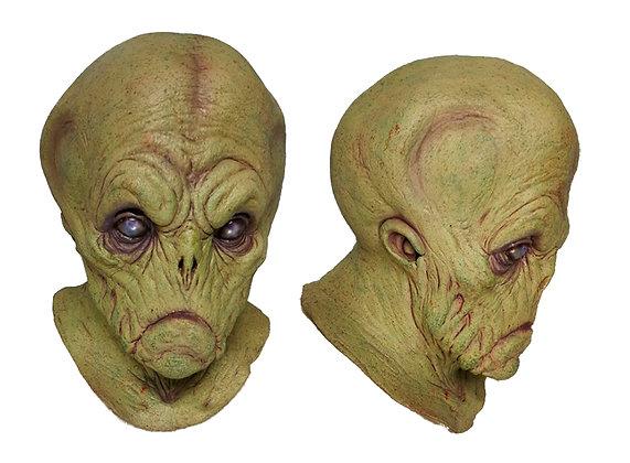 Máscara de látex integral de alien