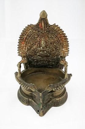 Pequeño altar ofrendas indú