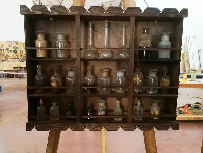 Mueble de esencias orientales S. XVII