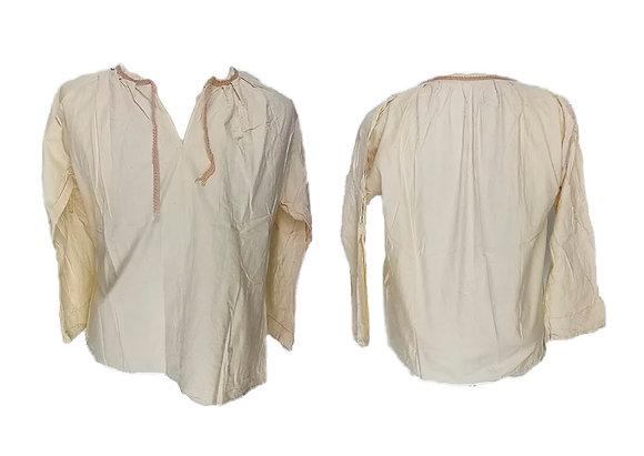 Blusa tejido ligero con cierre de cinta
