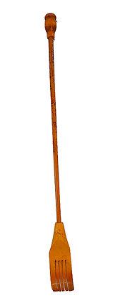 Rascador de espaldas de madera y bambú