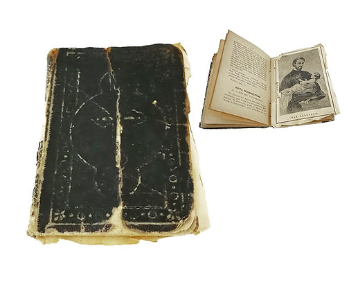 Libro oraciones principios de siglo XIX