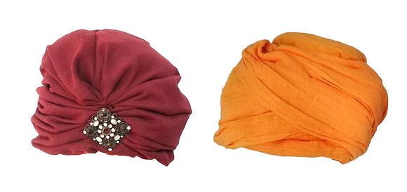Turbantes diferentes