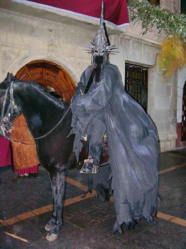 nazgul a caballo Exposición Señor de los Anillos