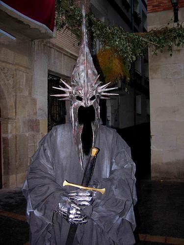 Construcción cascos y trajes Exposición Señor de los Anillos