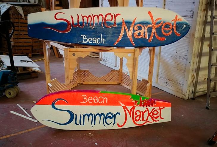Atrezo Summer market