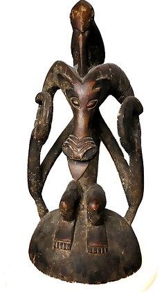 Figura ceremonial africana auténtica