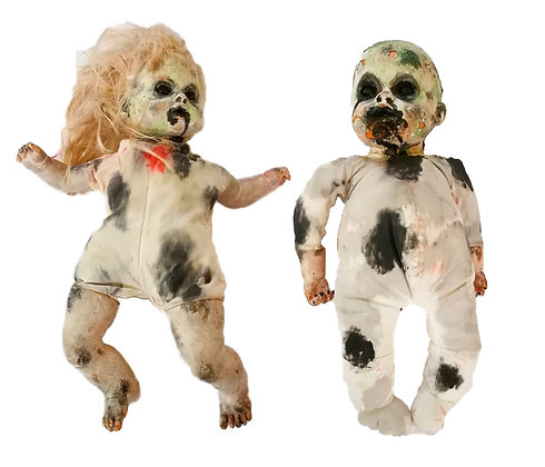 Diferentes modelos de muñecas de terror
